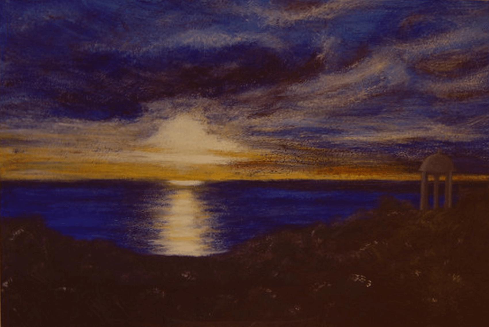 Sonnenuntergang am Meer « Atelier Sere